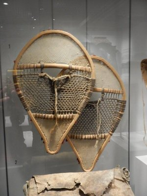 Europeans realized snowshoes were essential to walk on the snow; the museum opened in 1988 and was designed by Moshe Safdie