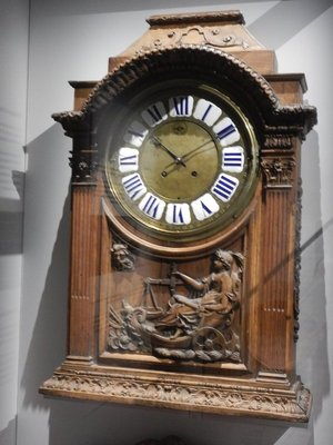 This 17th century clock bears the signature of King Louis XIV's clockmaker who worked in Paris from 1660 to 1714