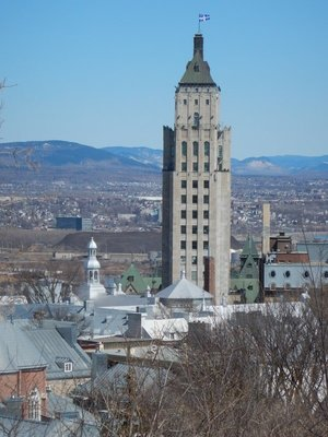 The 17 story, Art Deco Edifice Price; the top 2 floors serve as the official residence of the premier of Quebec
