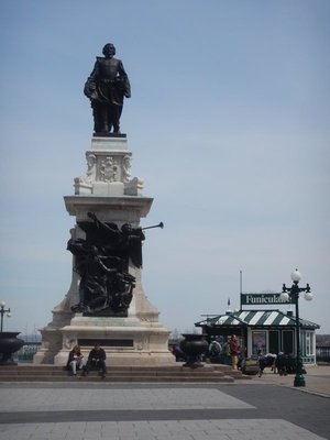 Champlain is known as the Father of New France; in addition to discovering Quebec City in 1608, he made more than 20 trips across the Atlantic mapping much of eastern Canada