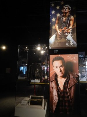 Many future stars were heavily influenced by Elvis; Bruce Springsteen said everything started and ended with Elvis; as a 6 year old Bruce remembered being mesmerized by Elvis on the Ed Sullivan Show