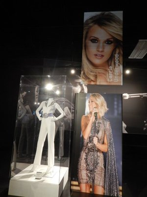 Carrie Underwood wasn't even born when Elvis died but she loved his music; thanks to modern technology she even had a hit duet with Elvis, I'll Be Home for Christmas