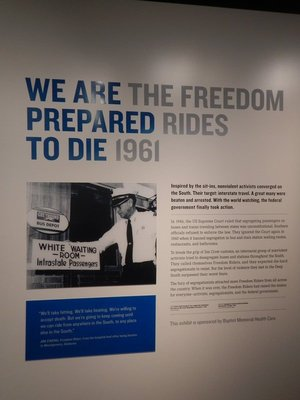 Despite US Supreme Court rulings in 1946 and 1960, Southern states refused to desegregate interstate buses, trains, waiting rooms and bathrooms; the Freedom Riders were met with extreme violence
