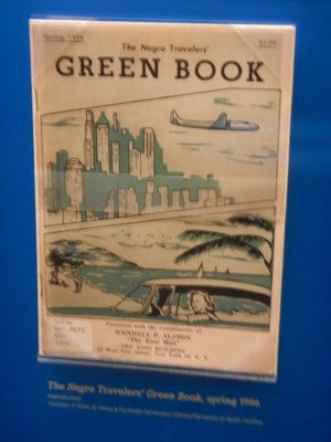 The Green Book was needed by Black travelers in the South since it detailed motels, restaurants and gas stations that would serve Blacks; this copy is from 1956, not that long ago!