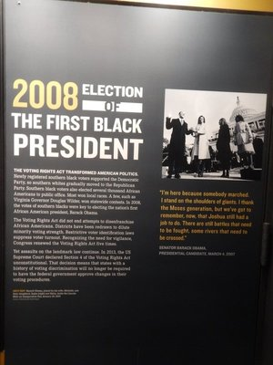 There have been some notable successes thanks to the Voting Rights Act of 1965 but efforts continue to disenfranchise Blacks and other minorities, especially through gerrymandering