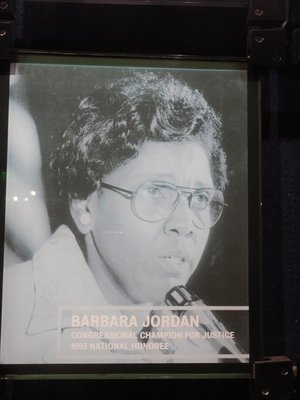 Houstonian Barbara Jordan broke many barriers as she became a national figure during the Watergate hearings; where are similar voices today?