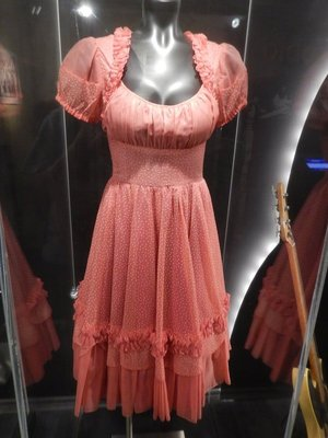 Dress worn by Reese Witherspoon in Walk the Line (2005); the film became the top-grossing music biopic of all time