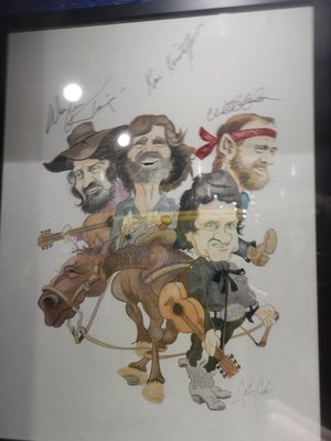 In the mid-1980s Cash toured with Kris Kristofferson, Waylon Jennings and Willie Nelson as the Highwaymen; they would record 3 hit albums together