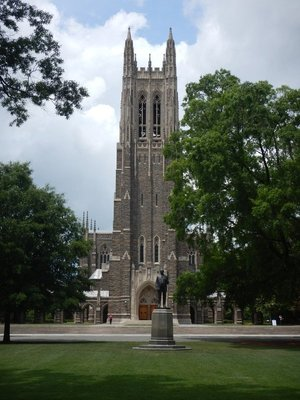Duke requires its students to live on campus for the first three years; the Duke men's basketball team has won 5 NCAA championships, most recently in 2015