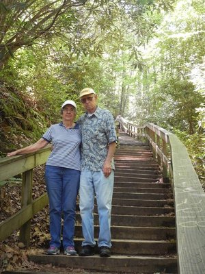 I was very impressed that my parents decided to tackle the hike and managed it without much difficulty