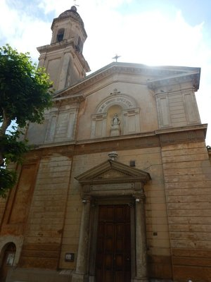 The Church of the Black Penitents; I struggled sightseeing here since I didn't have a guide book