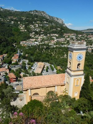 The perched village of Eze is known for its peace and quiet; there are just a few places to stay and they are very expensive and exclusive