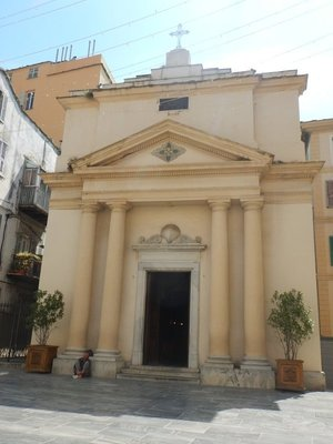 Oratory of the Confraternity of Saint Roch; built in 1604, this church was reserved for the adolescents of the lower town