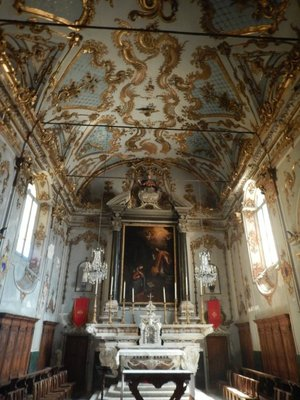 The Oratory of Holy Cross; each church has a religious brotherhood that is active in charitable giving and organizing religious celebrations