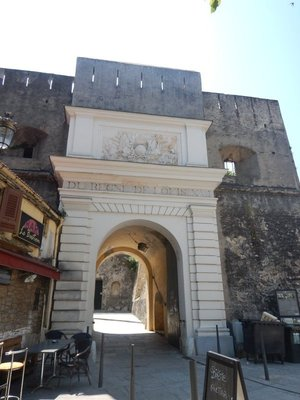 The Louis XVI Gate, built in the late 18th century, was the only entrance to the walled city until 1936