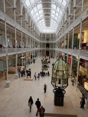 National Museum of Scotland is like our Smithsonian; fascinating, comprehensive and free