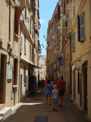The narrow streets of the old town are lined with boutiques, souvenir shops and cafes; it's a very small area and easy to see in an hour or two