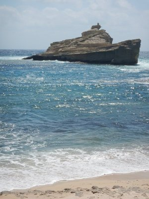 This rock pile looked just like a shipwreck; ironic, since the Straits of Bonifacio are notoriously dangerous and littered with unfortunate victims