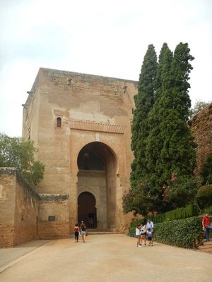 Puerta de la Justicia; main entrance to this UNESCO World Heritage Site