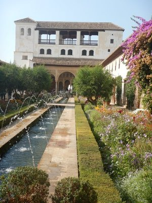 The Court of the Acequia is probably the most photographed scene at the Generalife