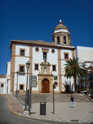 Ronda is 100km west of Malaga and has 35,000 residents