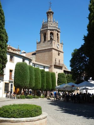 Plaza de Espana; Ronda is considered the most spectacular town in Malaga province