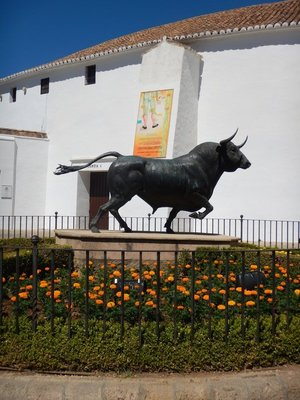 1794 Neoclassical bullring is the oldest in Spain; Ronda has storied bullfighting history