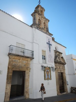 16th century church; in the historic part of Arcos little has changed in hundreds of years