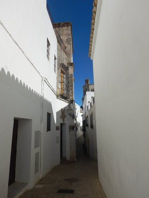It seemed like I was the only person in town on my walking tour (OK, it was very hot and right during siesta)