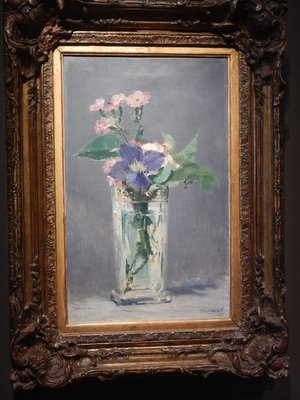 Manet, Flowers in a Crystal Vase, 1882; Orsay is number one thing to do in Paris according to TripAdvisor