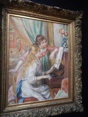 Renior, Young Girls at Piano, 1892