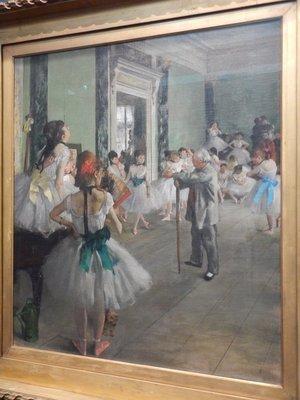 Degas, Dance Class, 1876