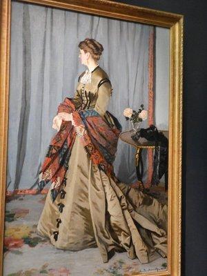 Monet, Madame Louis Joachim Gaudibert, 1868