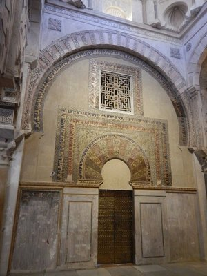 The Mezquita's maksura is a former royal enclosure where the caliphs and their retinues prayed