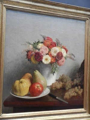 Fantin-Latour, Flowers and Fruits, 1865
