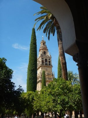 The 54 meter tall belltower of the Mezquita required a separate ticket to climb but offers the best views of the city