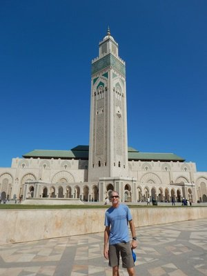 Mosque is the only thing worth seeing in Casablanca