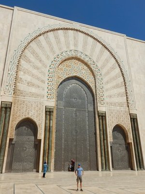 One of the few Moroccan mosques that non-Muslims can enter (only on tour)