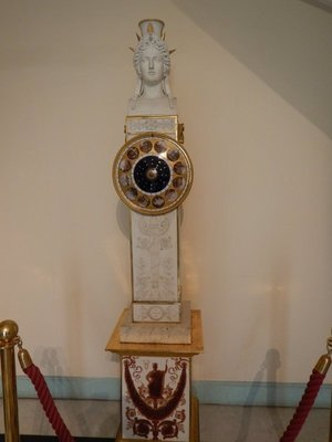 Sevres porcelain clock took 8 years to make and is the largest of its kind in the world