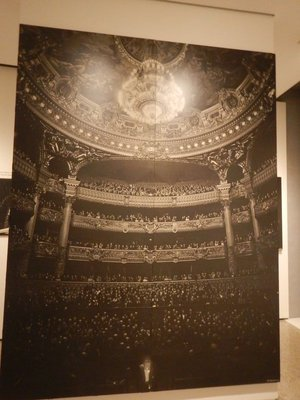 I recognized the Opera Garnier in Paris from just having been there; after the devastating war years, people really seemed to have a zest for life