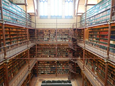 I had no idea that the museum also had a gorgeous library; I was able to skip the museum line by buying a Museumkart which is good for any five out of more than 400 museums in the Netherlands