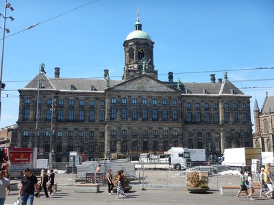 The Royal Palace was originally built to serve as Amsterdam City Hall in 1655 when the city was the most prosperous in the world; the building became a Royal Palace when Napoleon installed his brother as king in 1806