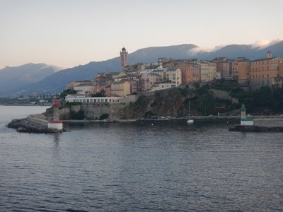 Bastia is the second most populous city on the island of Corsica but has only 43,000 people