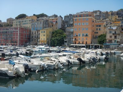 It's easy to see Bastia in an hour; the town is photogenic but there aren't any sights that require a lengthy visit