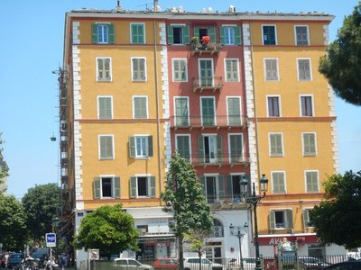 Bastia is a very clean city with lots of Italian spoken; most locals speak both French and Italian