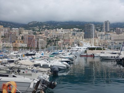 Monaco's port was constructed between 1901 and 1926; the Yacht Club of Monaco has more than 1600 members from 60 countries