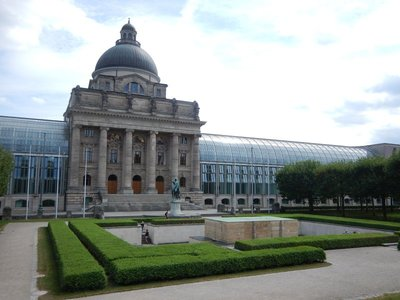 The Bavarian State Chancellery, home of the Bavaria Minister-President, was just one of many buildings that make Munich seem more like a national capital than just the capital of one German state