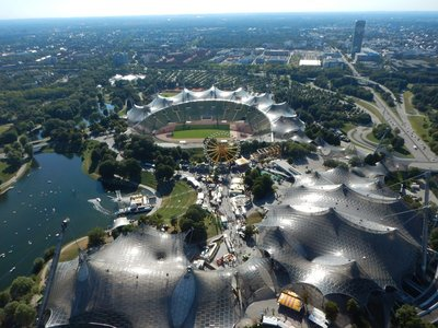 Olympic Park is a rarity in that it is a wildly successful destination; there is an amusement park, aquarium, lake, Olympic tower, swimming hall, soccer venues, tennis courts, sand volleyball courts and just tons of people