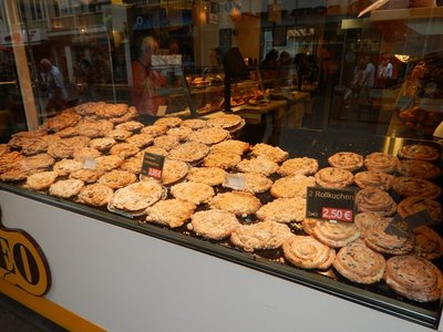 Like most of Europe, there were great bakeries every block or two; unlike the US, there are also plenty of book stores