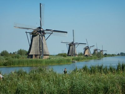 There are reportedly 1000 windmills left in the Netherlands; the cost to maintain a windmill averages about $50,000 a year